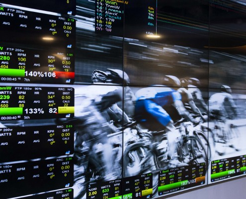 Athlete Lab Sydney data screen